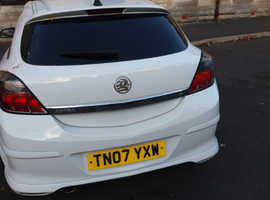 Vauxhall Astra, 2007 (07) White Hatchback, Manual Petrol, 11,100 miles