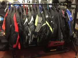 JOB LOT NEW MOTORCYCLE CLOTHING