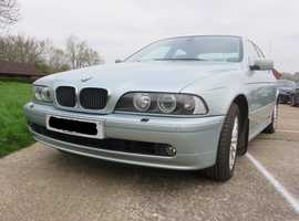 BMW 5 Series, 2002 (02) Green Saloon, Automatic Petrol, 96,000 miles