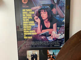 Original Pulp Fiction Movie poster (signed)