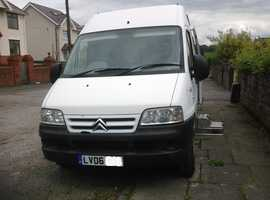 Camper van Citroen Relay sleeps two     45K miles only