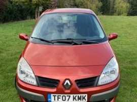 Renault Scenic, 2007 (07), Manual Petrol, 58,000 miles