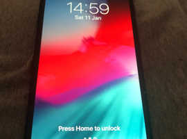 iPhone 7 Plus matt black perfect condition