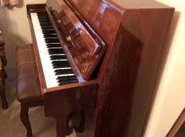 Stunning mahogany finish upright piano