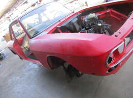 Body of Lancia Fulvia Coup 1.3S series II