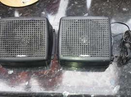Classic Retro Harry Moss Car Speakers
