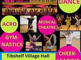 Dance, Cheerleading & Gymnastics Classes in Shirland, Alfreton