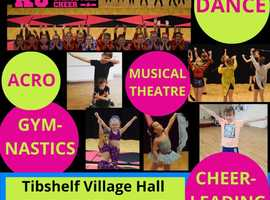 Dance, Cheerleading & Gymnastics Classes in Tibshelf, Alfreton
