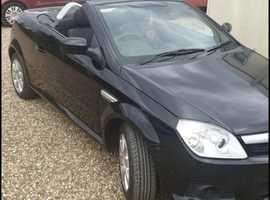 Vauxhall Tigra, 2007 (07) Black Coupe, Manual Petrol, 99,791 miles