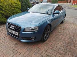 Audi A5, 2008 (58) Blue Coupe, Automatic Diesel, 61,600 miles