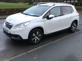 Peugeot 2008, 2013 (13) white hatchback, Manual Diesel, 56,393 miles