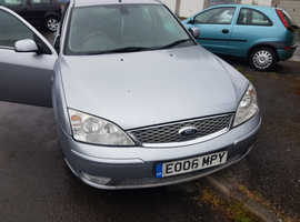 Ford Mondeo, 2006 (06) Silver Hatchback,Top of the range Ghia X 2ltr TDCI Spares or Repairs??? Please read details.