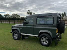Land Rover Defender, 2006 (55) Green Estate, Manual Diesel, 138,000 miles