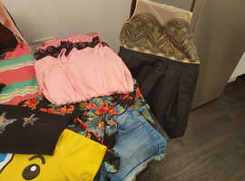 Selection of girls clothes 9 t0 10 years  up to 12 to 13