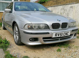 BMW 5 Series, 2001 (51) Silver Saloon, Automatic Petrol, 100,000 miles