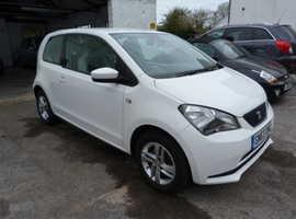 Seat Mii, 2013 (63) White Hatchback, Manual Petrol, 41,000 miles