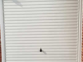 BARGAIN 6ft 8ins x 7ft 3ins Hormann Up and Over Garage Door For Sale