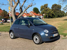Fiat 500 2012 1.2L Rare blue. Excellent condition inside and out! Super drive.
