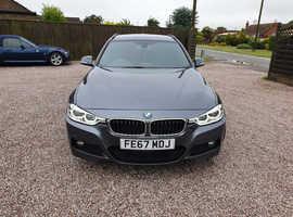 BMW 3 Series Msport+ Touring 2017 (67) Grey Estate, Automatic Diesel, 24,000 miles
