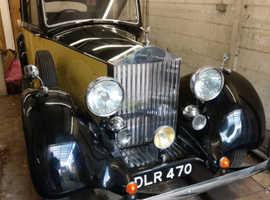 Beautifully restored 1936 Rolls Royce 25/30 Parkward Sports Saloon