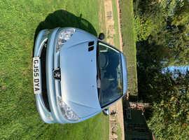 Peugeot 206 sport 05  (55 plate) 12 months MOT