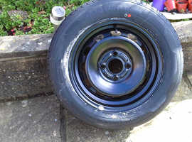 2014 spare  wheel and tyre