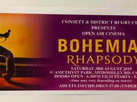 Open Air Cinema Bohemian Rhapsody