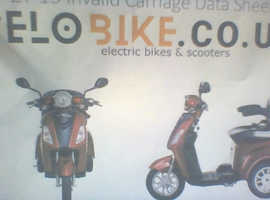 if you want to travel with some care this electric trike will take you there  brand new