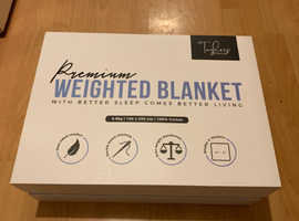 Premium weigthed blanket set  - BRAND NEW UNOPENED ( For insomnia and anxiety)