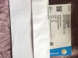 Rod Stewart Concert Tickets York X 2