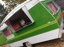 Retro Caravan Catering Unit