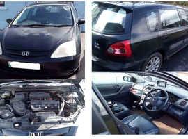 HONDA CIVIC VII 1.6i  SE 2002 5dr Hatchback