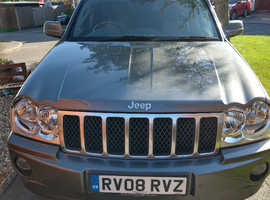 Jeep Grand Cherokee  Overland. 3.0 CRD, 2008 (08)  Automatic Diesel