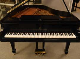 Steinway Grand Model M Piano, Ebony Finish for sale.