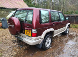 Isuzu Citation, 2002 (52) red estate, Manual Diesel, 128000 miles