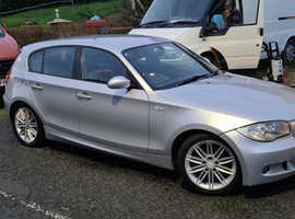 BMW 1 series 118D M Sport, 2006 (06) Silver Hatchback, Manual Diesel, 146,978 miles