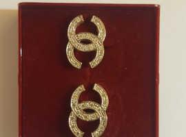 9 carat gold Chanel earings