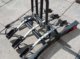 thule 9503 bike tow bar carrier