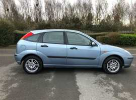 Ford Focus 1.6 LX 2 OWNERS 115K 6 SERVICE STAMPS FEB 2021 MOT 5 DOOR HATCH PETROL