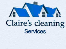 Claire's cleaning services