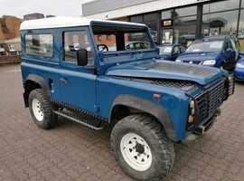 Land Rover Defender, 1991 (J) Blue 4x4, Manual Diesel, 91,985 miles