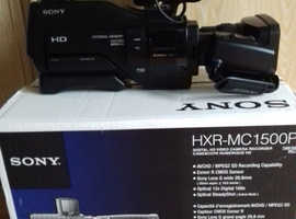 Sony HXR-MC1500 Professional HD Video Camera Boxed as new