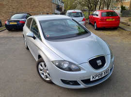 Seat Leon, 2008 (08) Grey Hatchback, Manual Diesel, 147,080 miles