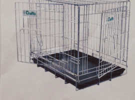 Genuine Crufts Foldaway Dog Crate