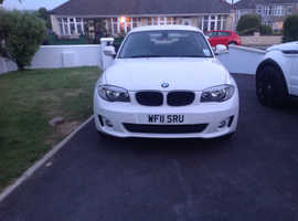 BMW 1 series, 2011 (11) White Coupe, Manual Diesel, 28,000 miles