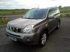 Nissan X-TRAIL, 2008 (57) Grey Estate, Manual Diesel, 115,000 miles