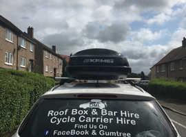DML Roof Box & Bar Hire