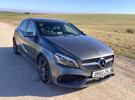 Mercedes A-CLASS, 2015 (65) Grey Hatchback, Automatic Diesel AMG Line P