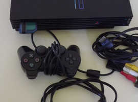 PS 2 Console + 9 Games