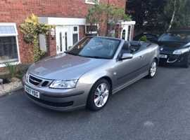 Saab 9-3, 2007 (07) Grey Convertible, Manual Diesel, 90,000 miles